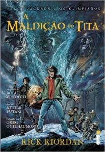 HQ - A Maldição do Titã. Graphic Novel - (Capa Comum) R$ 6,90