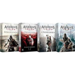 Box Assassin's Creed - 4 Livros (sai menos de 10 reais cada)