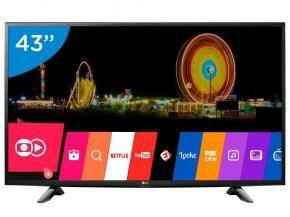"""Smart TV LED 43"""" LG Full HD 43LH5700"""