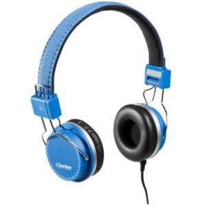 Headphone Bomber Quake, Hastes Ajustáveis e Dobráveis, Cabo Flat - HB02 Blue
