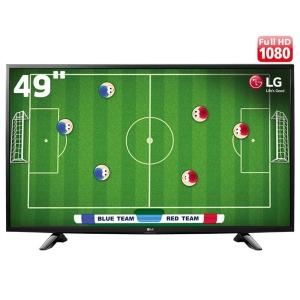 "TV LED 49"" Full HD LG 49LH5150 com Conversor Digital Integrado, Painel IPS, Game TV, Entrada HDMI e USB"