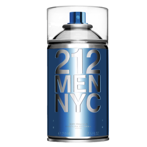212 Men NYC Seductive Body Spray, 250ml - R$ 112,90