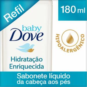 Sabonete líquido Baby Dove - R$7
