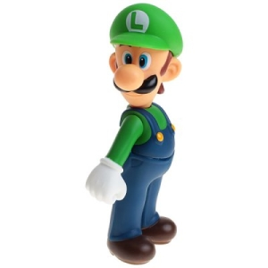 Super Mario Bros Luigi Figure 13cm - R$8,00 (frete grátis)