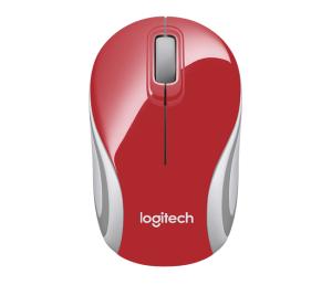 Wireless Mouse M187 Logitech Vermelho por R$40