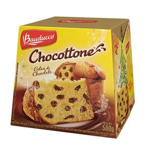 Panettone ou Chocottone maxi Chocolate Bauducco 500g - R$ 3,99