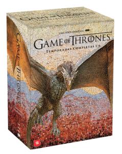 DVD Game Of Thrones - Temporadas Completas 1-6 - 30 Discos R$170,91