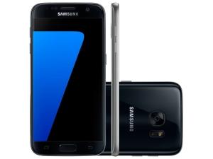 Smartphone Samsung Galaxy S7 32GB Preto 4G - Câm 12MP  por R$ 2070