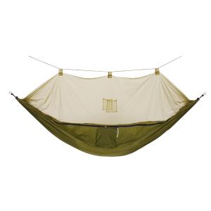 Rede de Descanso para Camping com Mosqueteiro em Nylon Guepardo Amazon Verde  por R$ 127