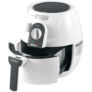 Fritadeira Philco Air Fry Saude 2,35L, Timer de 30 minutos e 7 Opções de Temperatura - Branco - 110V por R$249