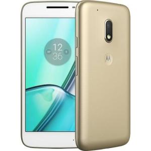 Smartphone Motorola Moto G 4ª Play DTV Edição - Especial 16GB Dourado Dual Chip 4G Câm. 8MP por R$693