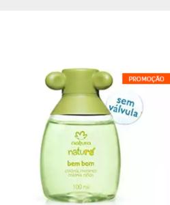 Colônia Bem Bom Meninos Naturé -100ml R$26,45
