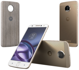 "Smartphone Motorola Moto Z Style Edition Dual Chip Dourado 5.5"" Android™6.0.1 Câm 13Mp, 64Gb"
