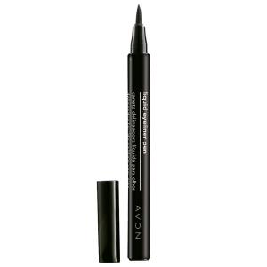 Caneta Delineadora para Olhos Avon Liquid Eyeliner por R$18