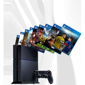 Console PlayStation 4 500GB + 20 Jogos Digitais - R$1399