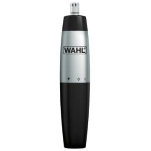Aparador de Pelos Nasal Trimmer Wahl - Para Nariz e Orelhas, Prático e Portátil, À Prova d'água, Aço Inoxidável, Pilha