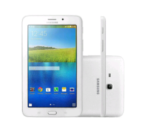 "Tablet Samsung Galaxy Tab E 8GB 7"" Wi-Fi - Android 4.4 Proc. Quad Core  FRETE GRÁTIS"