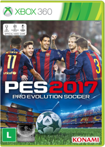 PES 2017 (Xbox 360) por R$117 (frete grátis)