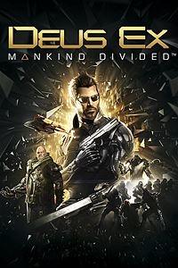 Deus Ex: Mankind Divided Padrão ou Deluxe - XBOX ONE - R$ 85,47 a R$ 128,37