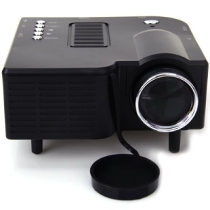 Micro projetor LED 400 Lúmens Suporte AV / SD / VGA / HDMI