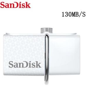 Original SanDisk 32GB USB & Micro USB (130MB/s) por R$54