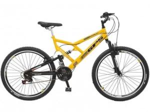 Bicicleta Colli Bike Aro 26 21 Marchas - Dupla Suspensão Freio V-Brake - R$502,55