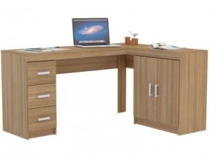 Escrivaninha/Mesa para Computador 2 Portas - 3 Gavetas - R$332,49
