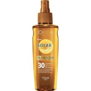 Óleo Protetor Solar L'Oréal Solar Expertise FPS 30 por R$30