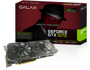Galax GTX 1070 EX por R$1661