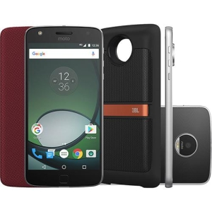 "Smartphone Moto Z Play Sound Edition Dual Chip Android 6.0 Tela 5.5"" 32GB Câmera 16MP - Preto por R$ 1799"
