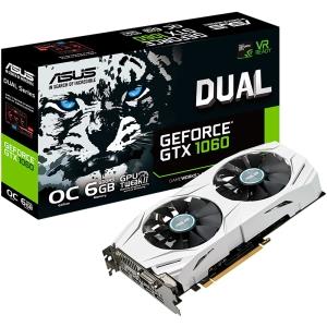 Placa de vídeo VGA ASUS Geforce GTX1060 6Gb GDDR5 por R$1149
