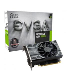 Placa de Vídeo EVGA GeForce GTX 1050Ti Gaming 4GB 04G-P4-6251-KR por R$659