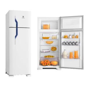 Refrigerador Electrolux Duplex Cycle DeFrost Branco 260L 220V DC35A por R$ 899