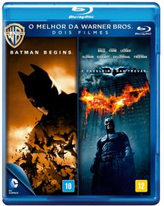 Batman Begins + o Cavaleiro Das Trevas - Blu-Ray - R$ 24,90