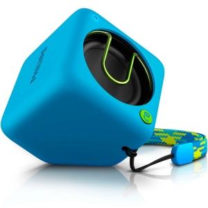 Caixa de Som Philips Portátil Bluetooth Azul - BT1300A/00 - R$74