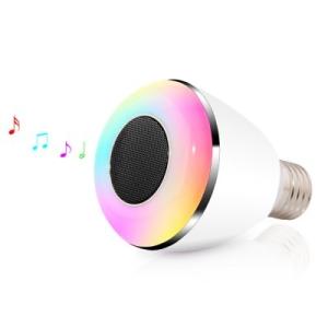 BL-08A - Lampada de LED c/ alto-falante por R$64