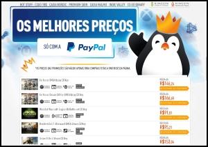 Games Steam Com até 75% Desconto Via PayPal