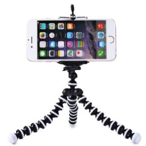 GEARBEST - Mini Tripé Flexível para Smartphone - R$ 9