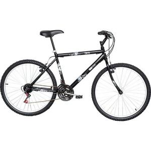 Bicicleta Life Zone Tokyo Aro 26 21 Marchas Preta - R$ 270