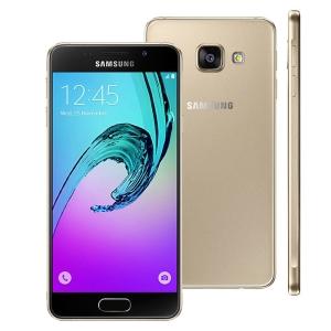 Smartphone Samsung Galaxy A3 2016 A310M/DS Dourado por R$ 798