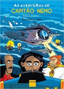 HQ - As Aventuras do Capitão Nemo: Profundezas (Capa Comum) – R$ 7,90