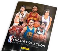 Álbum NBA 2016/2017 + 8 Figurinhas Grátis