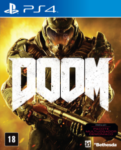 Doom - PS4 - R$ 90