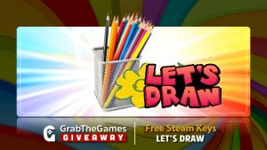 STEAM - Lets Draw Key Grátis 0$