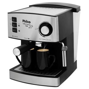 Cafeteira Expresso Philco Coffee Express - Inox - 15 Bar por R$ 184