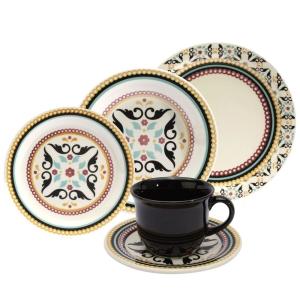 Aparelho de Jantar, Chá e Sobremesa Oxford Luiza Daily JM38 6750 - 20 Peças POR R$ 156