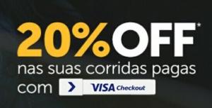 Easy Taxi : 20% com Visa Checkout