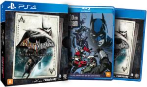Ps4-Xbox One Batman  Return To Arkham  Edição Limitada
