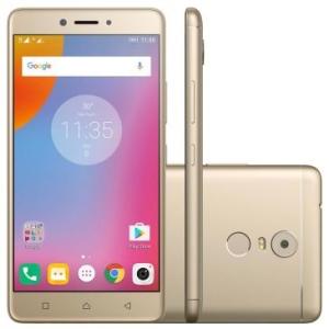 Smartphone Lenovo Vibe K6 Plus Dourado K53B36 por R$ 1029