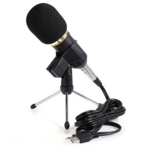 MK - F200FL 3.5mm Audio Wired Condenser Microphone por R$ 63